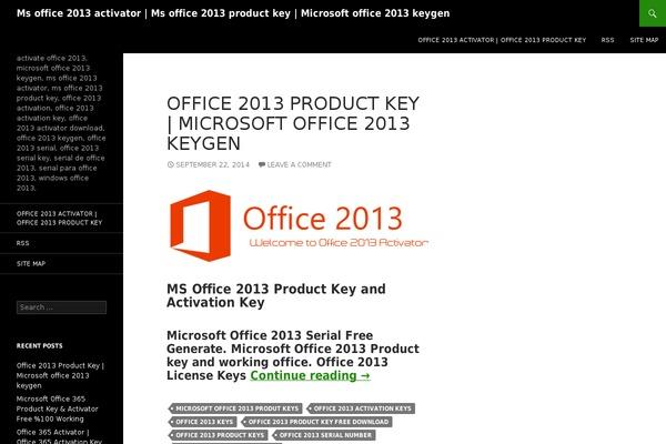 microsoft office 2013 keygen free download