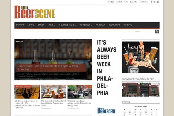 Full Screen Popup WordPress theme, websites examples using