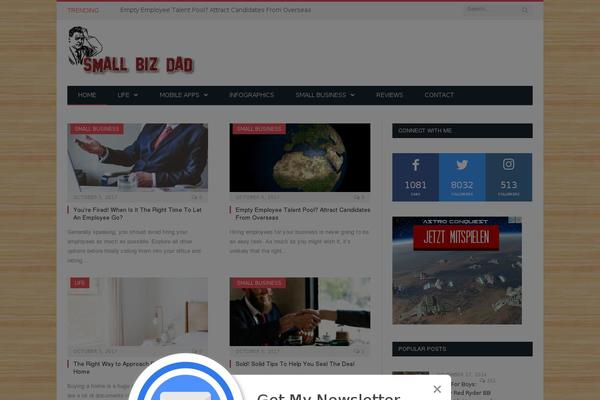 Socialfans-counter WordPress theme, websites examples using