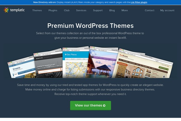 Templatic Wordpress Themes. 5, likes · 10 talking about this. Templatic (baylionopur.ml) provides out of the box Premium WordPress themes to.