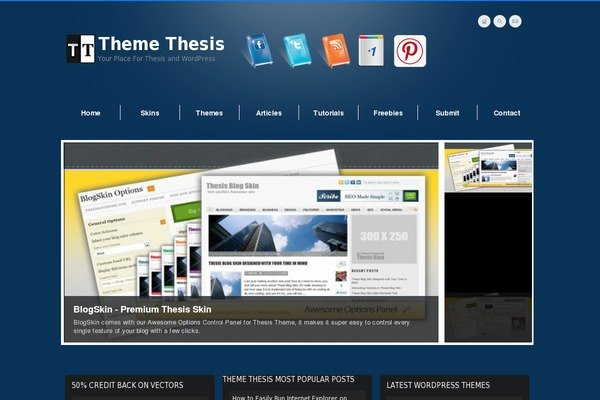website using thesis theme A comprehensive guide explaining what is a wordpress theme framework  i'm using headway theme, a bit of ibuilder (not quite like it), thesis and of course.